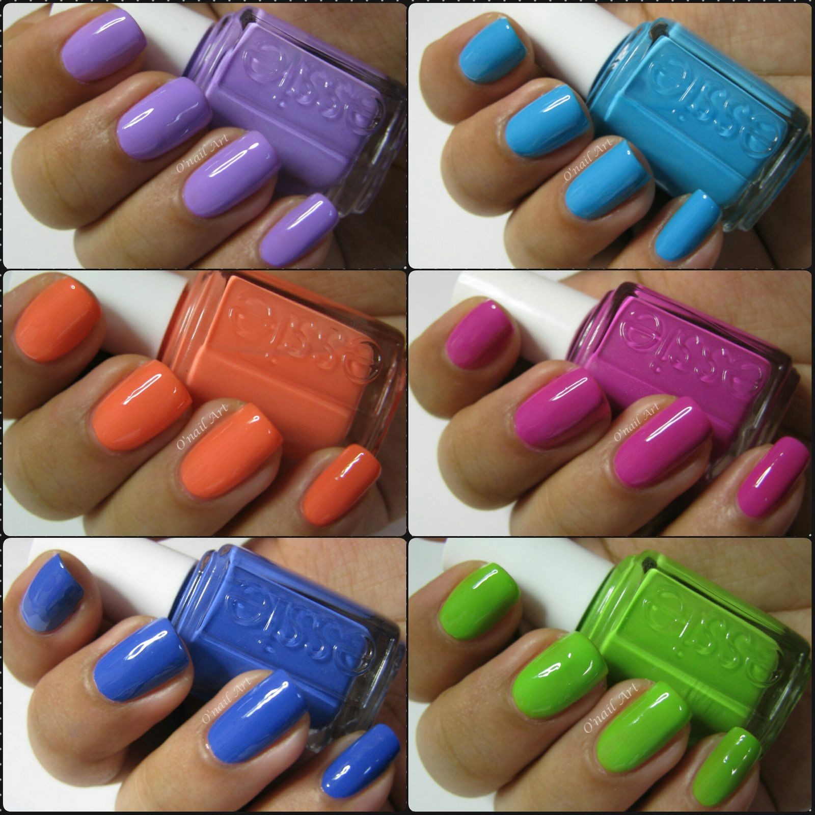 Collection ESSIE Summer neon 2014