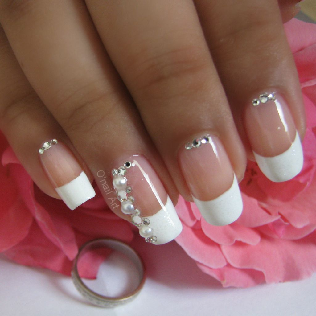 nail art de mariage se dire oui pour la vie. Black Bedroom Furniture Sets. Home Design Ideas
