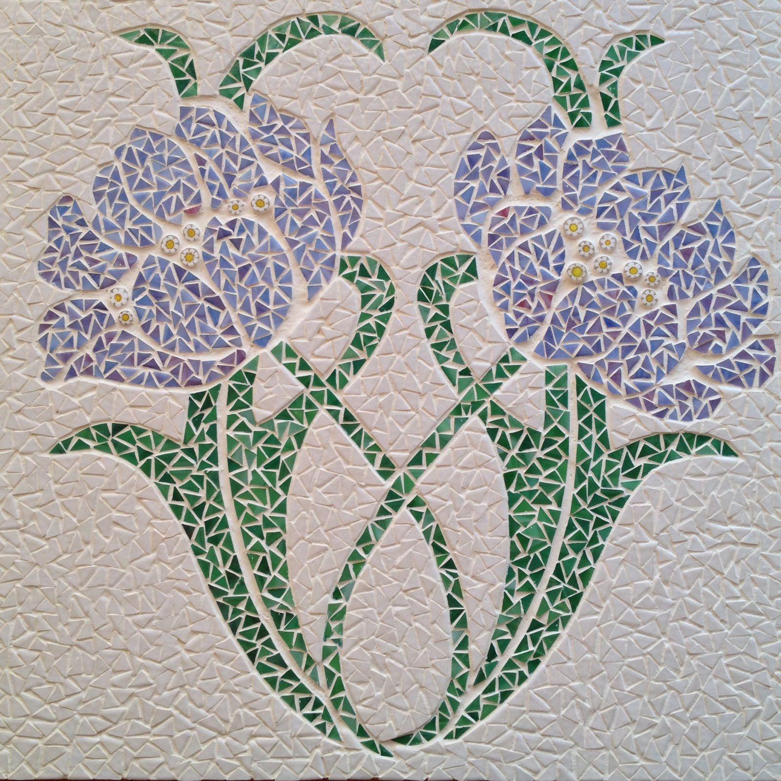 Fleurs Art Nouveau Passionmosamarion