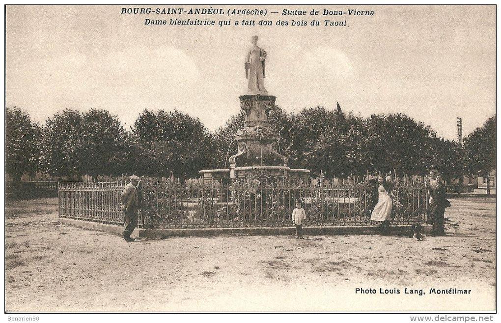 La fontaine hier.