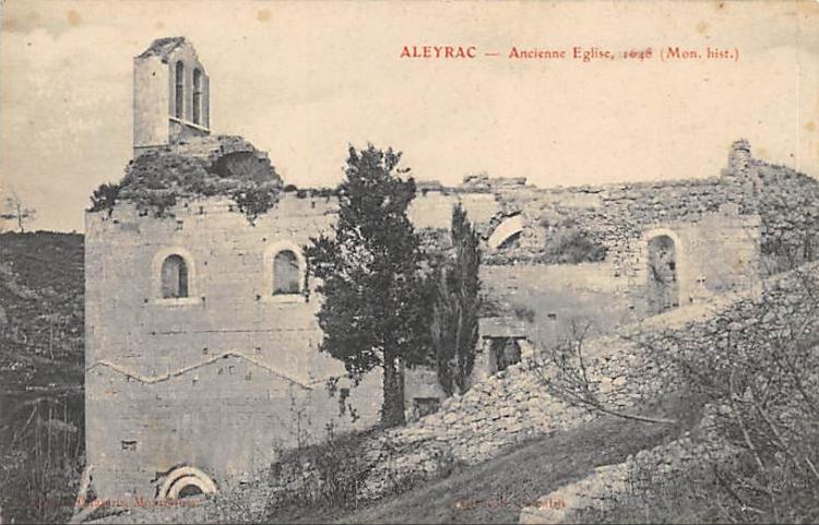 Notre-Dame de la Brune D'Aleyrac (Drôme 26770)