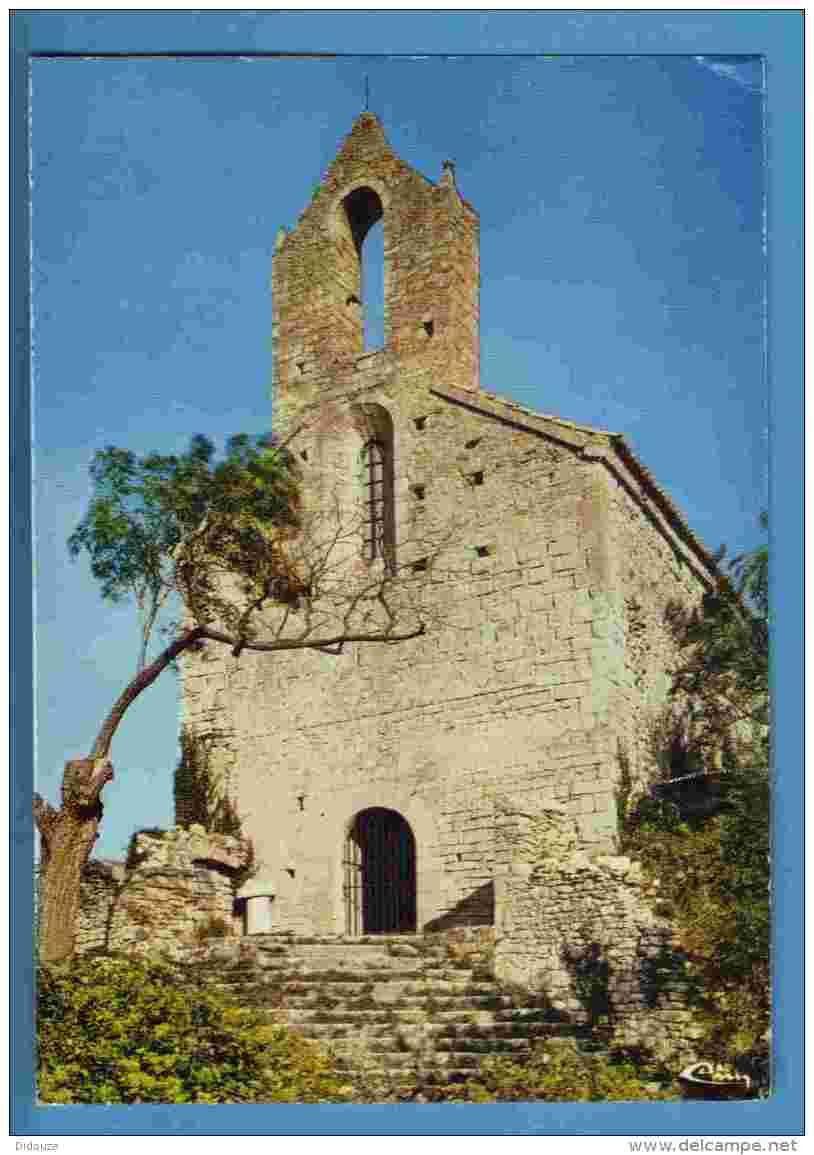 La chapelle sauvée de Vénéjan (Gard 30)