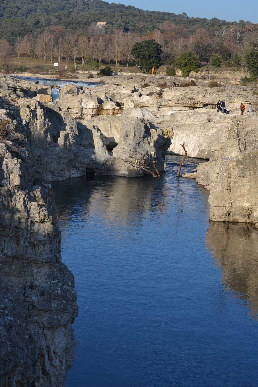 La Cascade De Sautadet à La Roque Sur Céze (Gard 30)