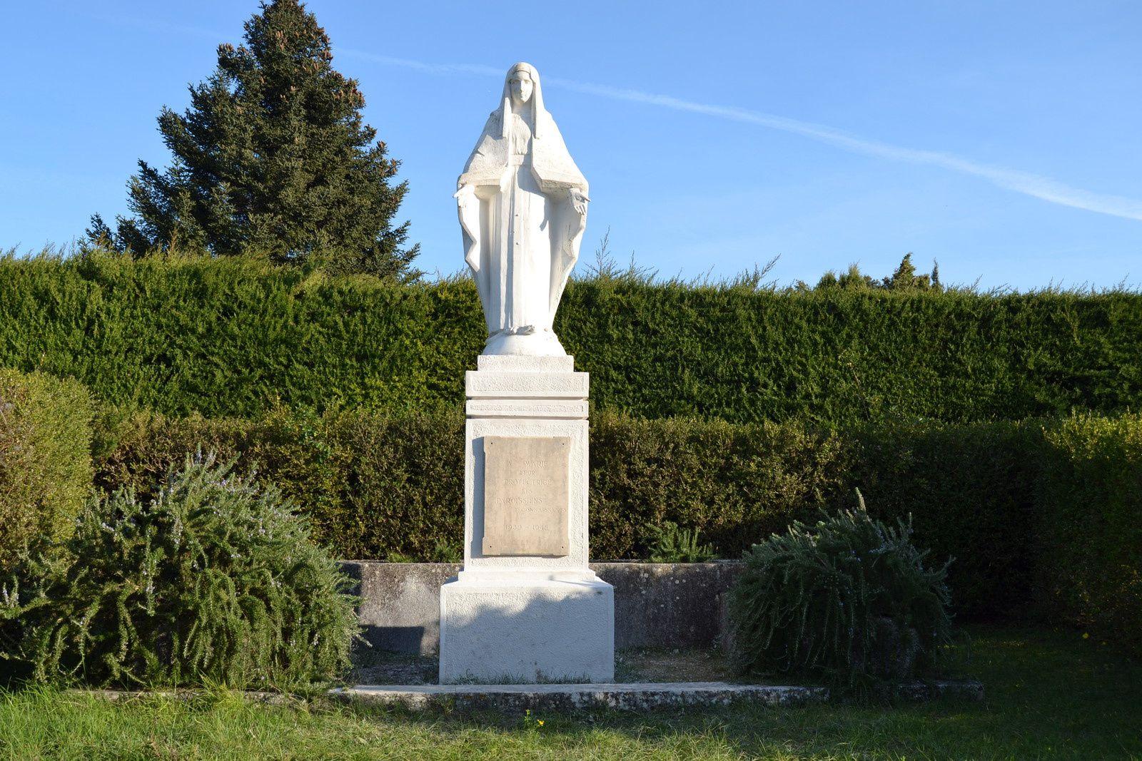 La vierge Du Voeu De Saint-Restitut (Drôme 26)