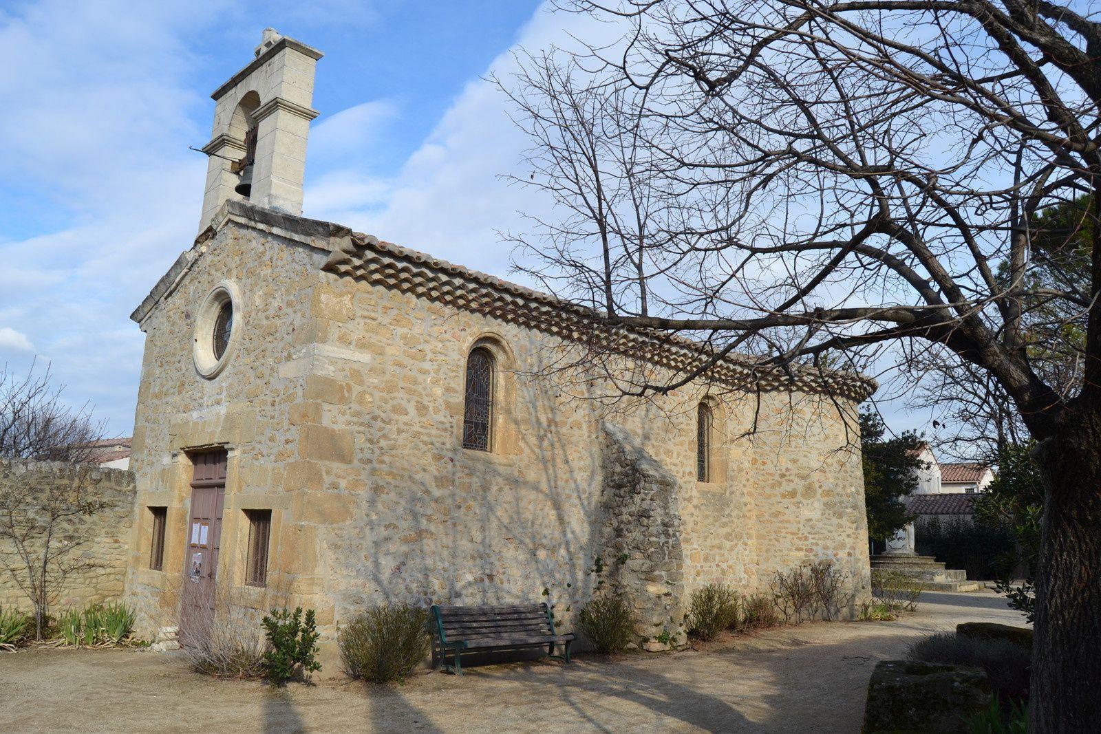 La Chapelle Sainte Cécile Sainte-Croix à Sainte-Cécile-Les-Vignes ( Vaucluse 84)