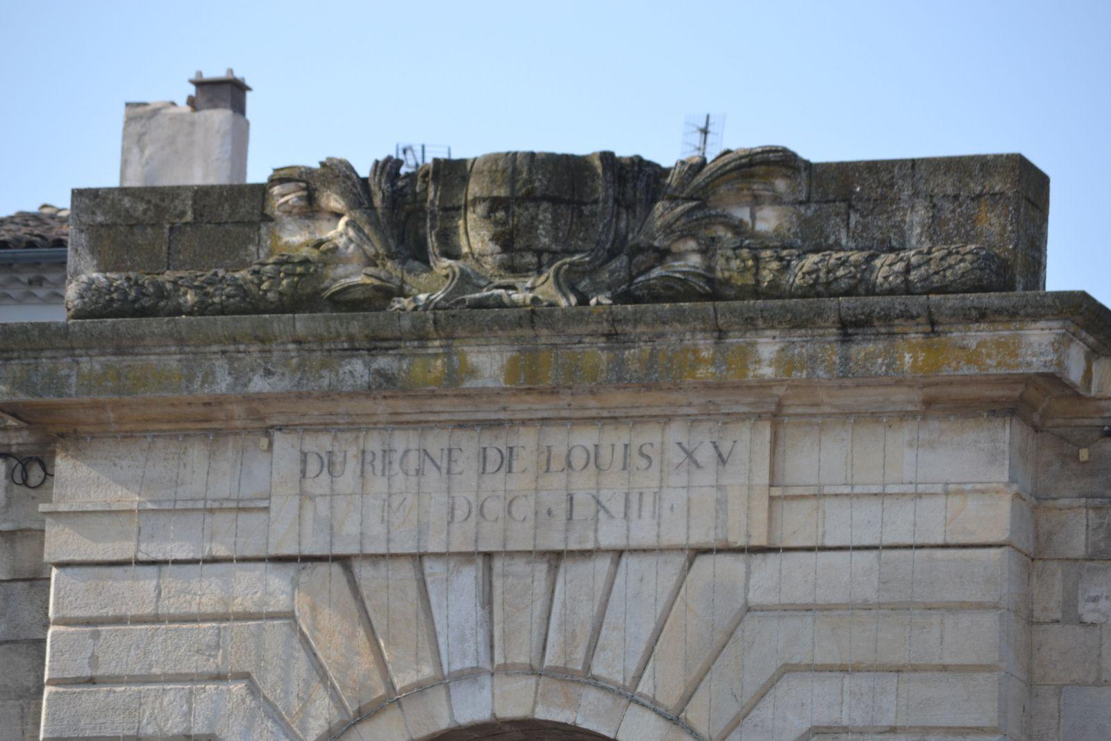 La Porte Saint-Martin de Montélimar (Drôme 26)