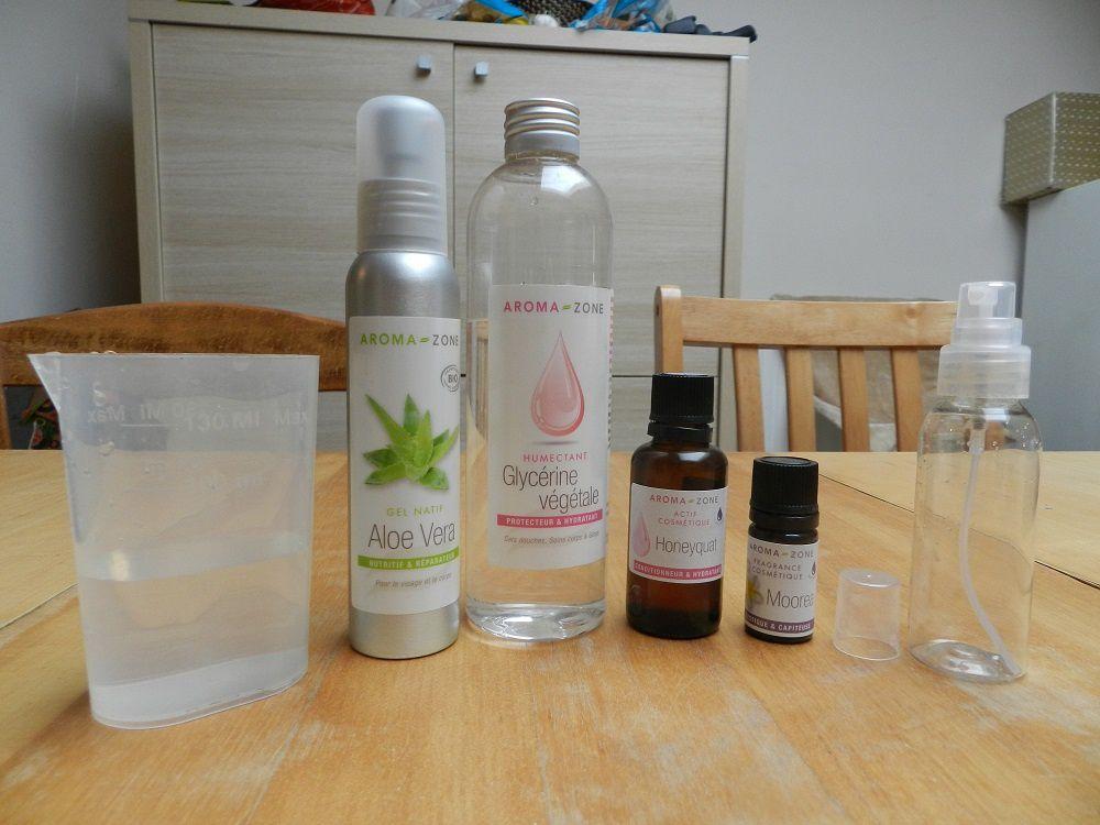 Spray hydratant capillaire #2 à l'aloe vera