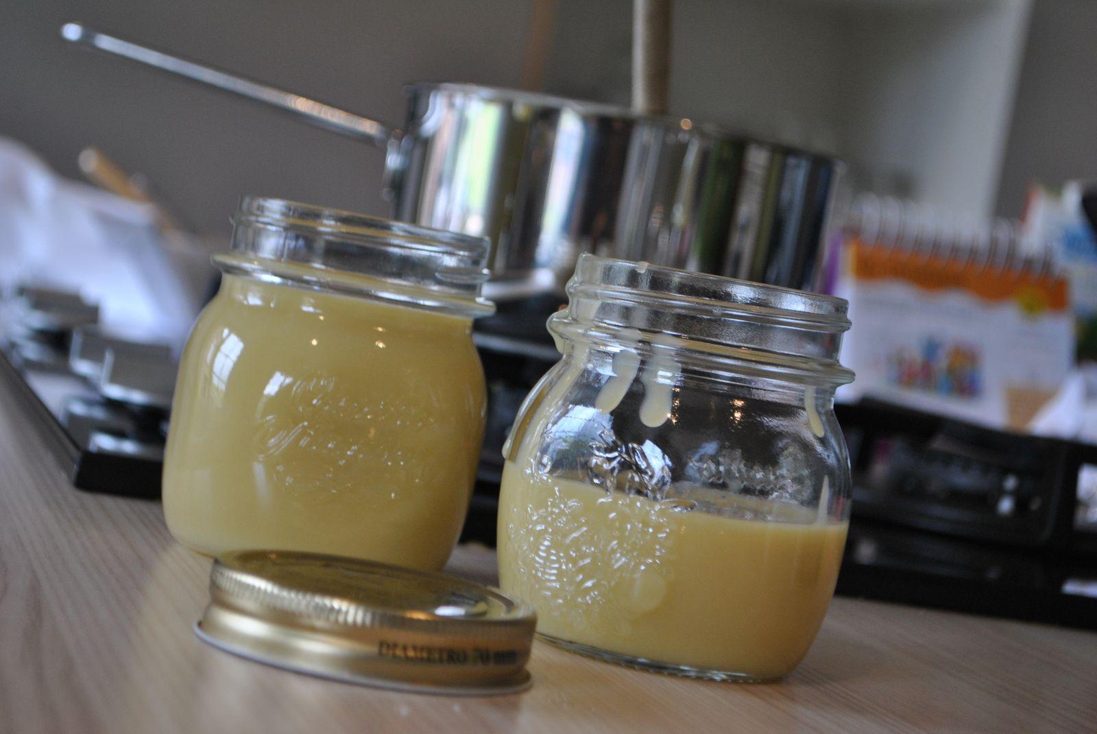 Pâte à tartiner au chocolat blanc, miel et huile d'olive¶