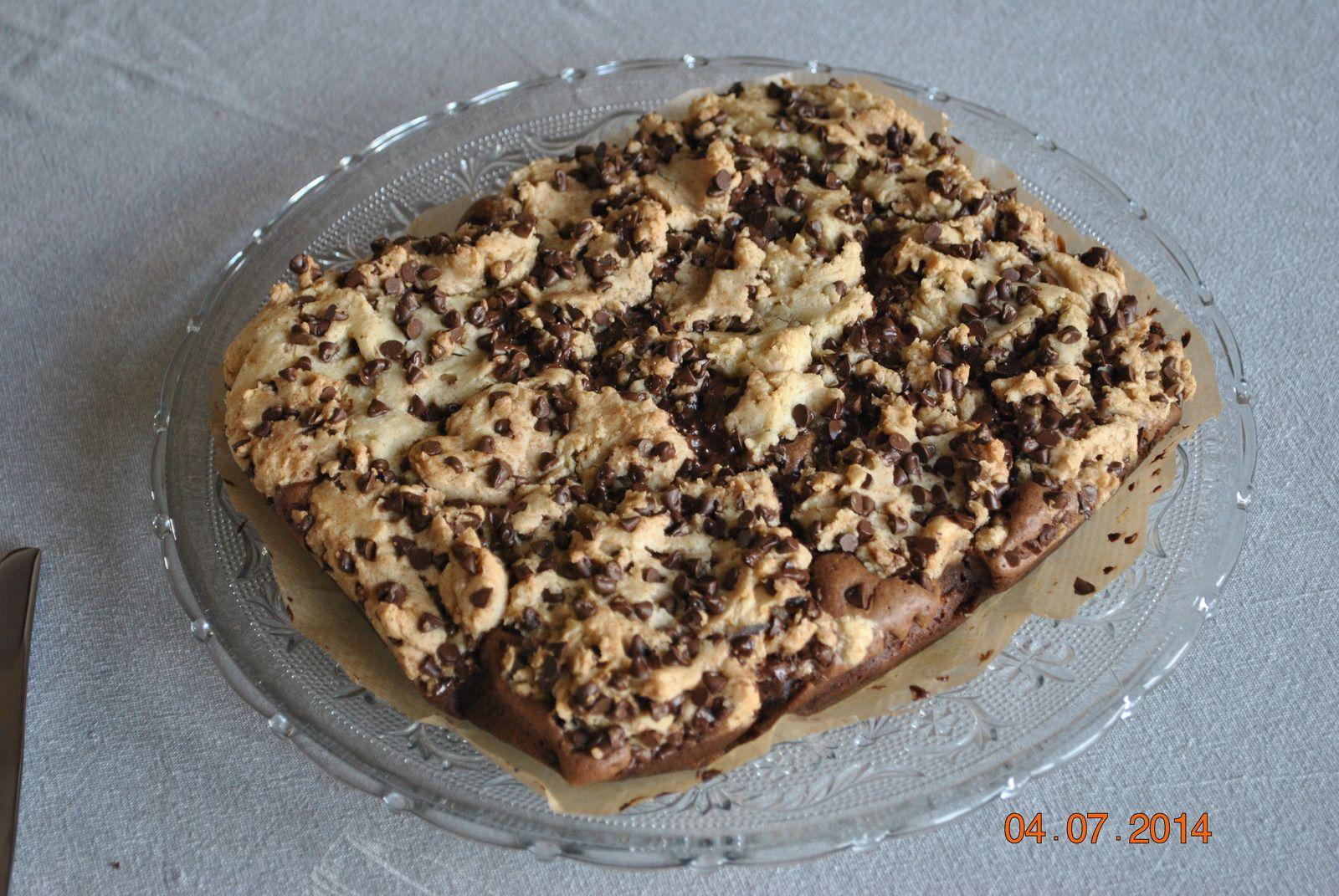 Broowkie (cookie-brownie)