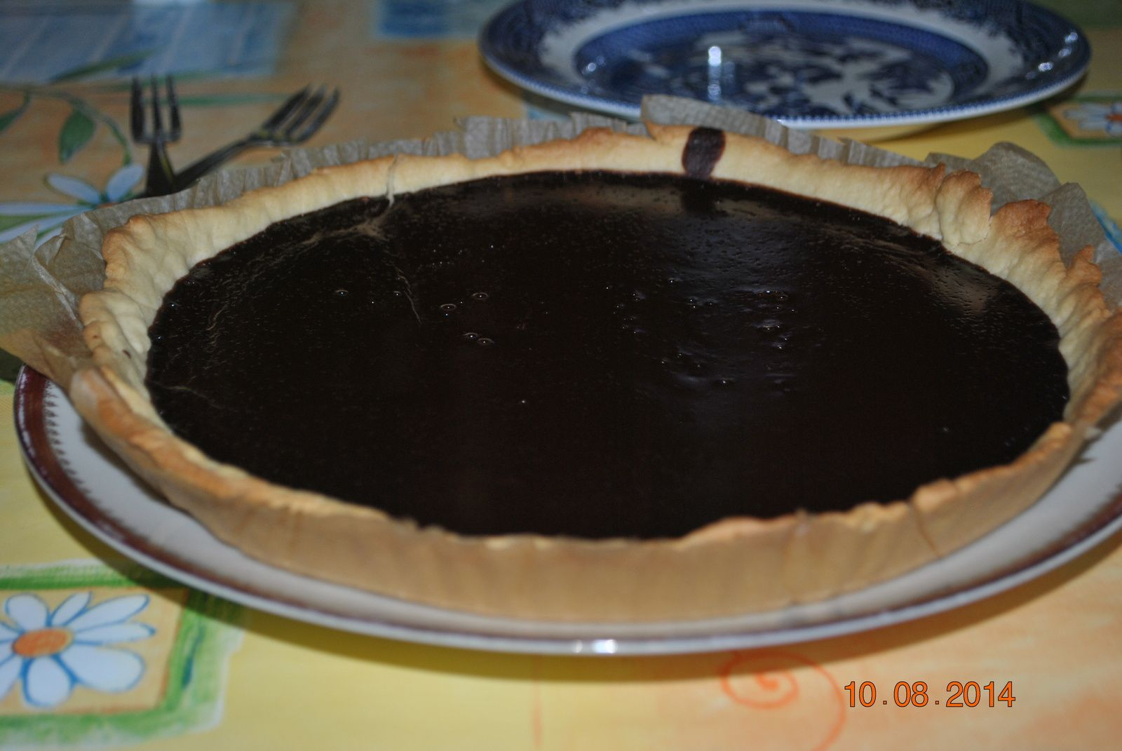 Tarte au chocolat de Frederic Anton