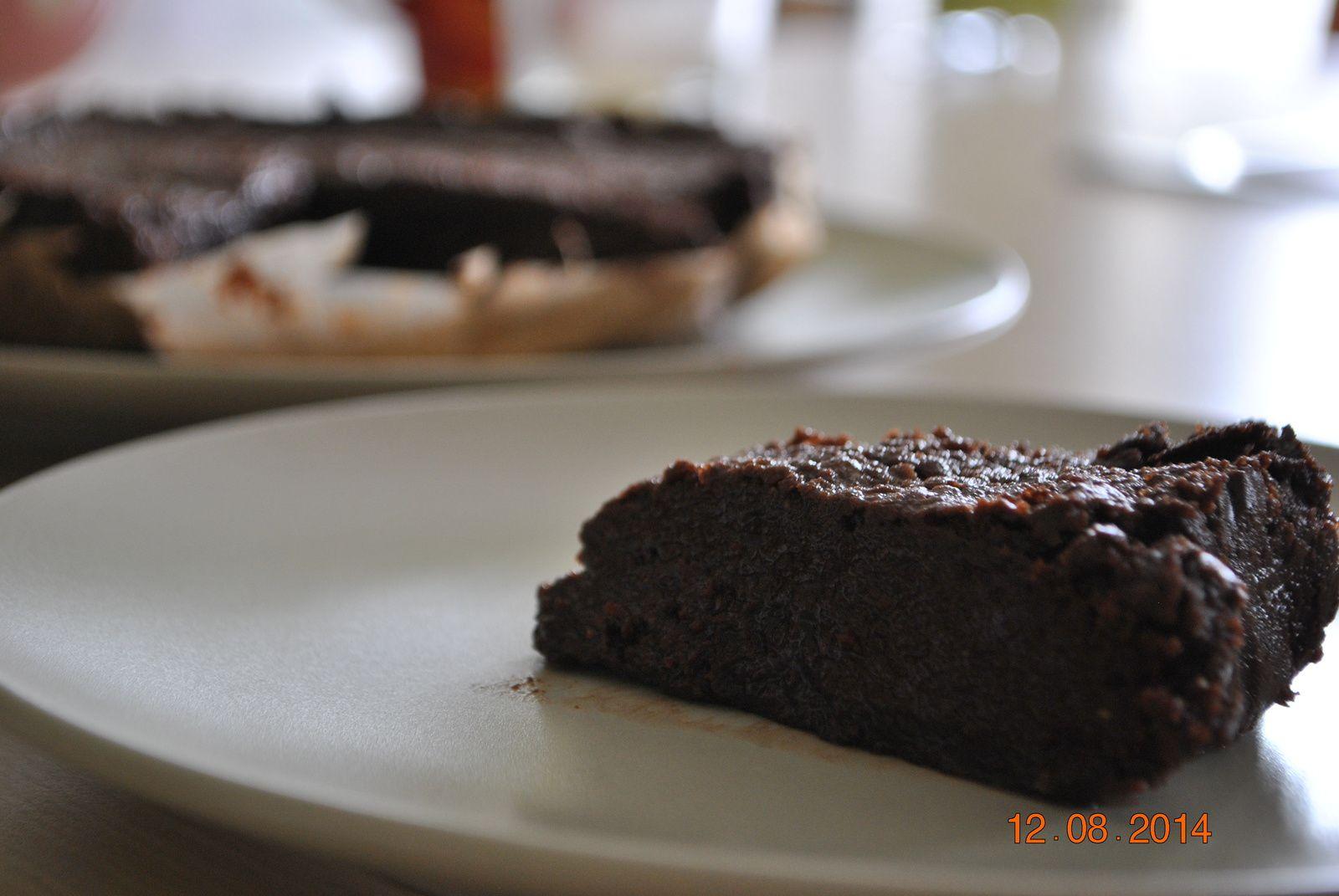 Fondant chocolat sans oeuf