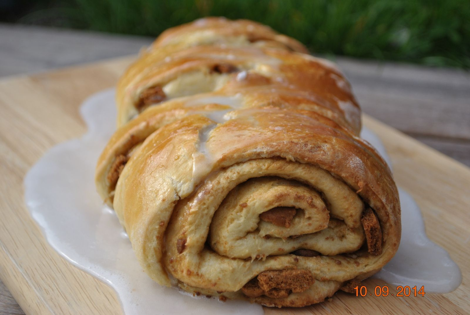 Pull apart bread, Speculoos Roll