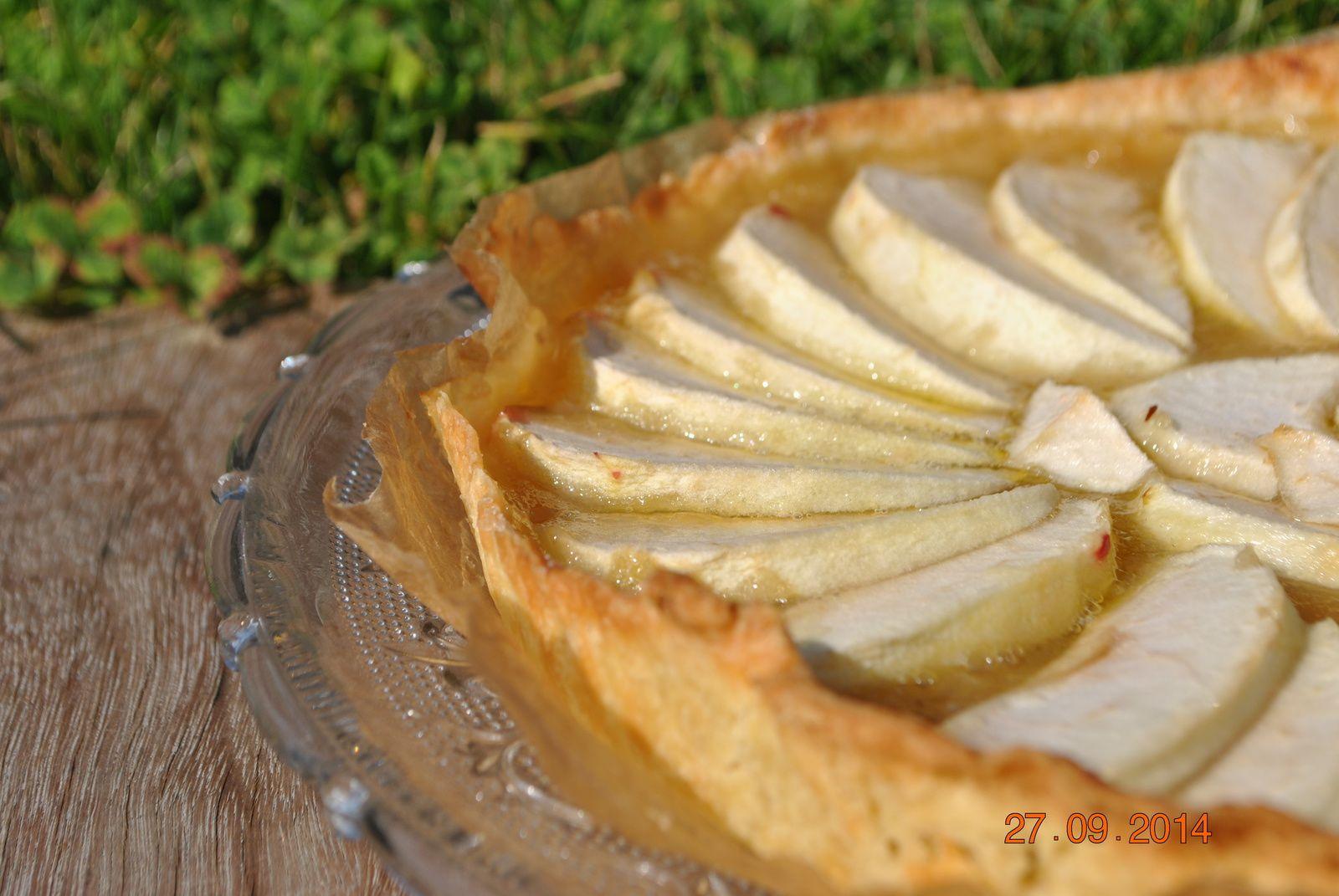 Tarte aux pommes toute simple (CAP)