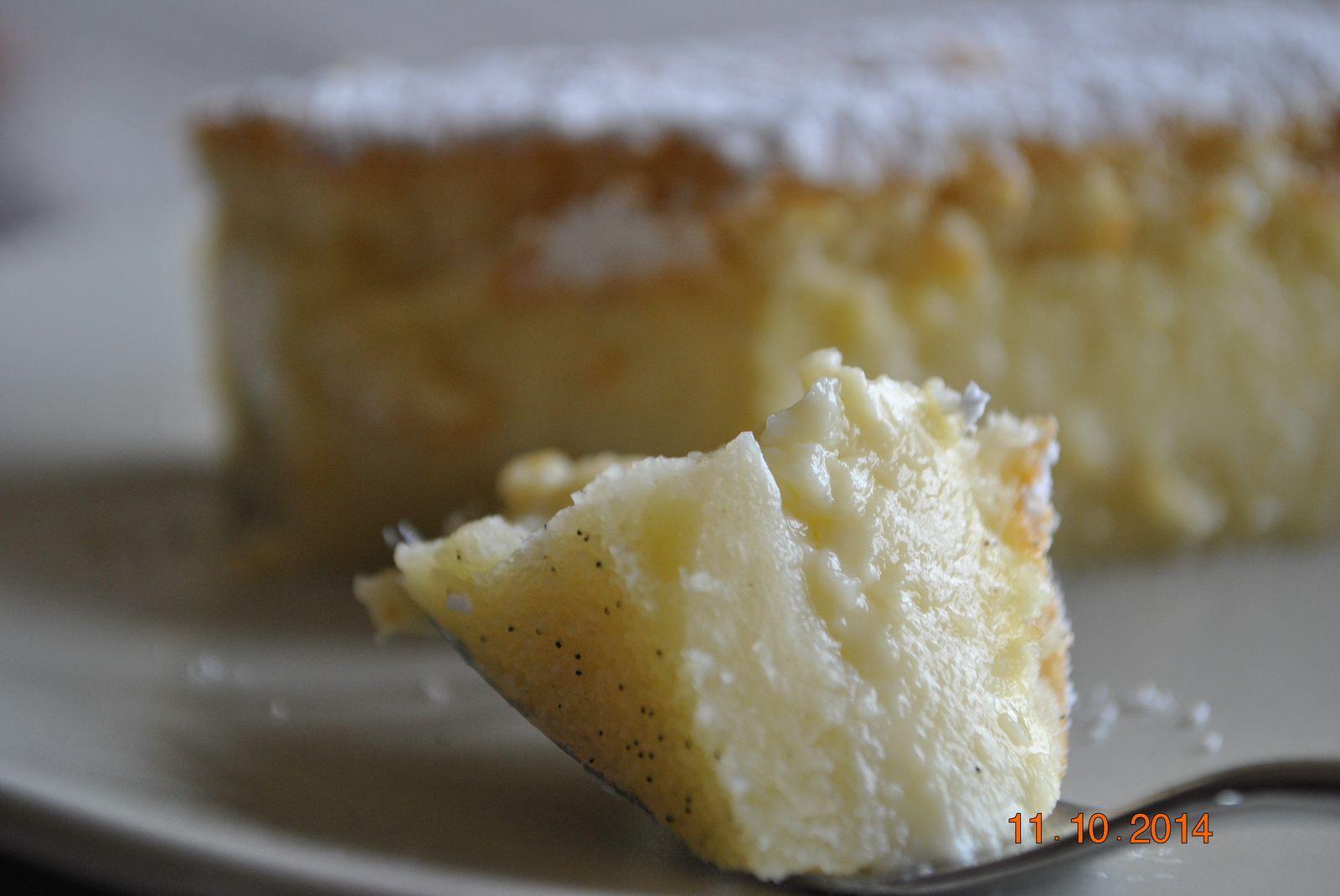 Gâteau magique à la vanille♥ #2