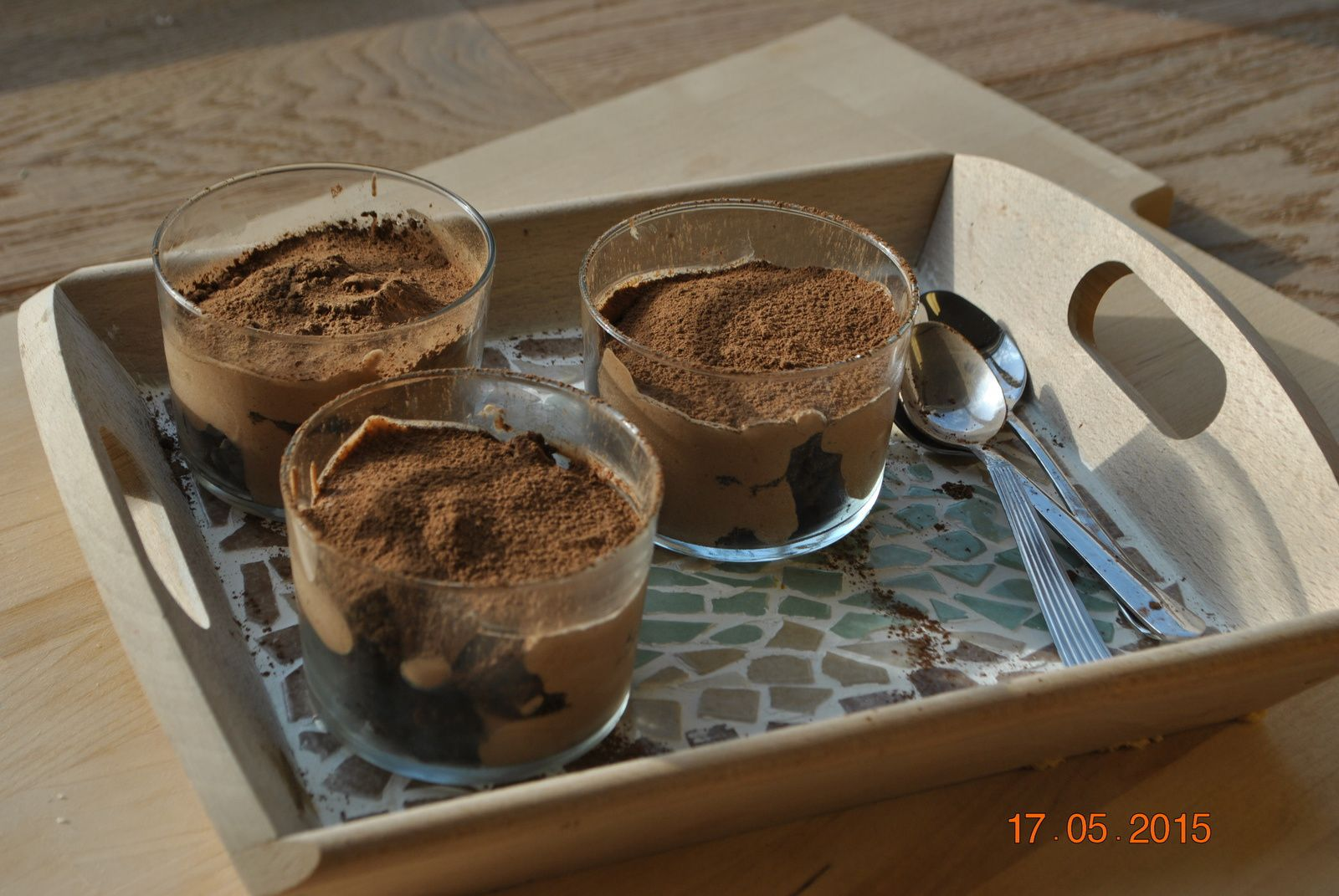 Tiramisu au chocolat et aux brownies (ultra gourmand!)