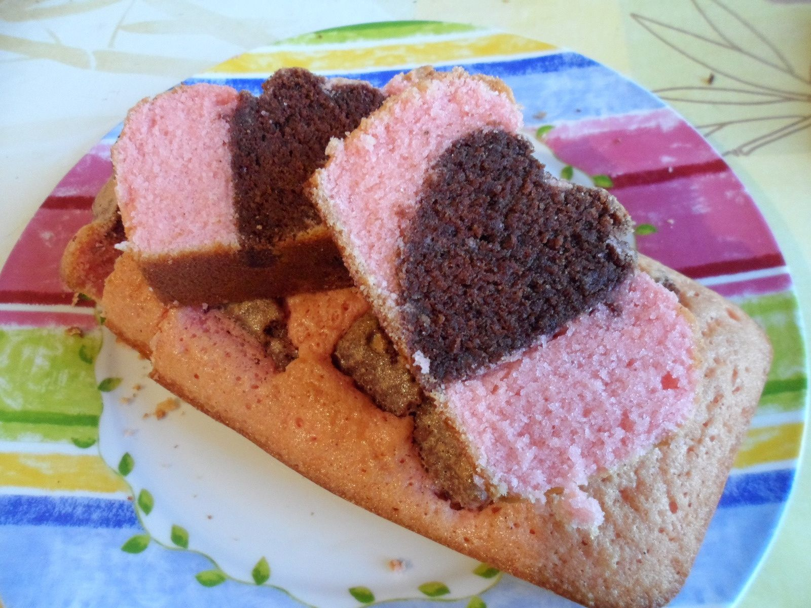 Cake de la saint valentin !