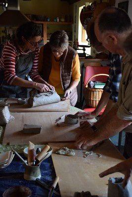 L'Art au Bout des Doigts : Atelier