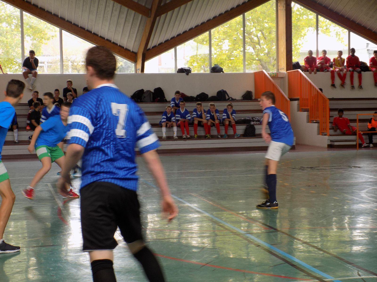 Photos de la 1ère journée de fustal Romilly 07/10/15