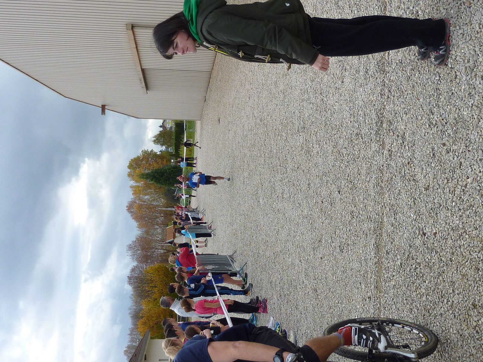Cross et run and bike de District Romilly 04/11/15