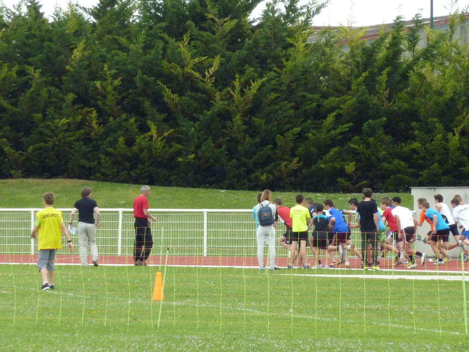 Championnats académiques d'athlétisme estival Reims mai 2016 (photos et vidéos)