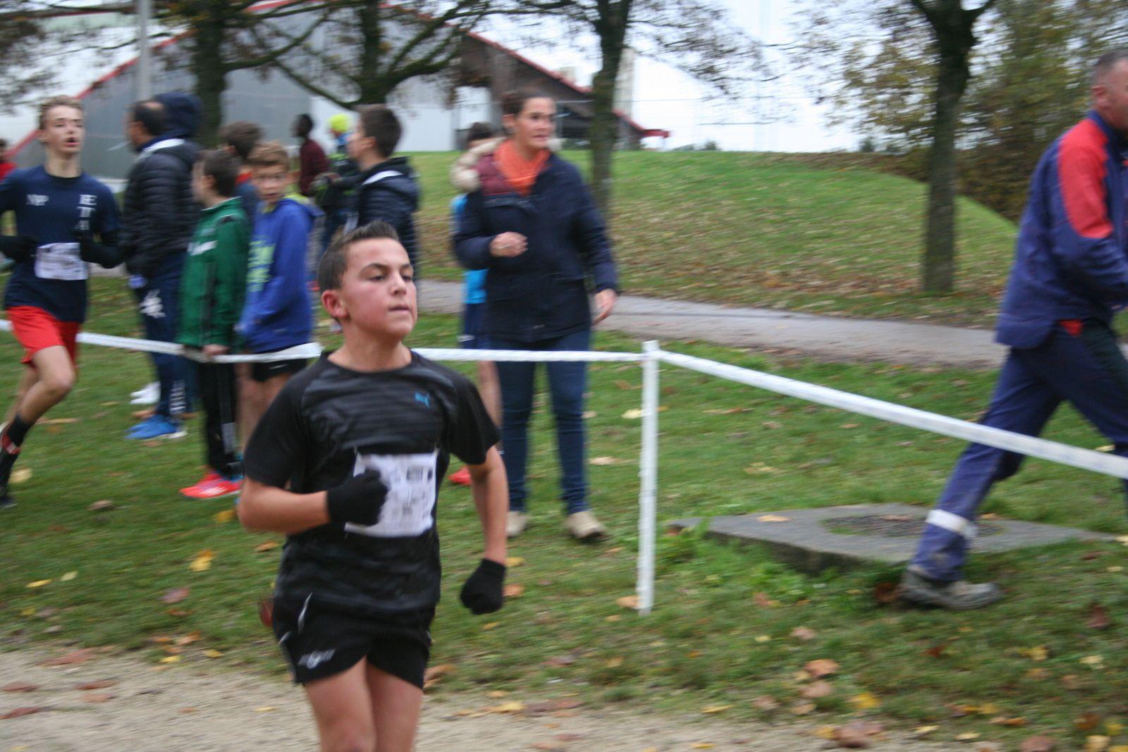 Cross départemental troyes Nov.2016