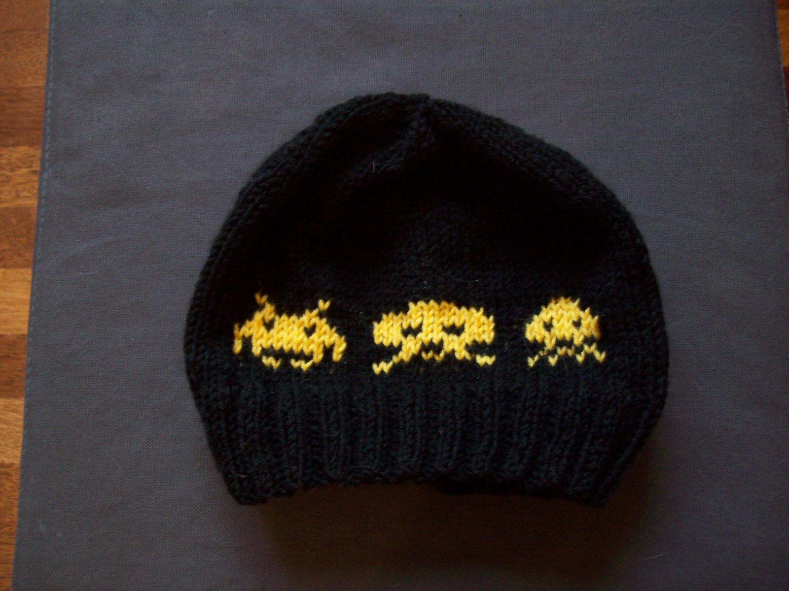Bonnet geek : Space Invaders #3