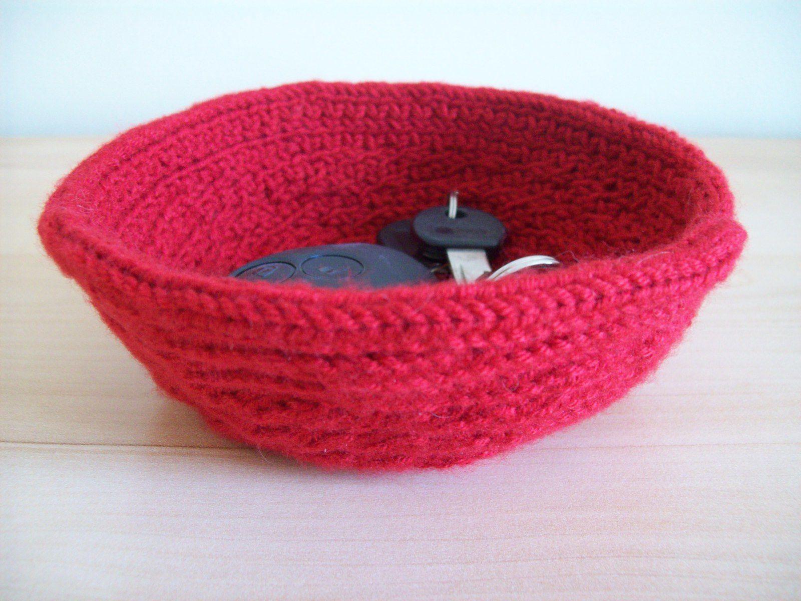 Corbeille au tricotin