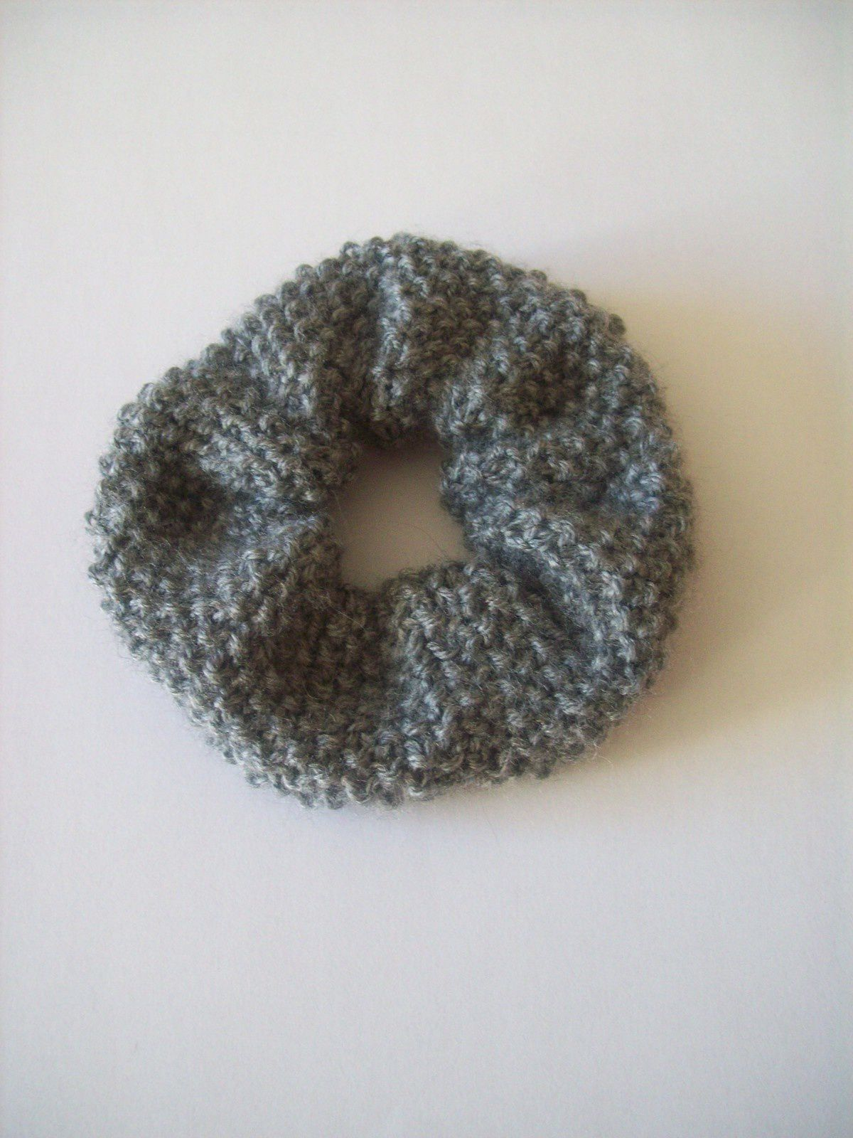 Chouchou tricoté main