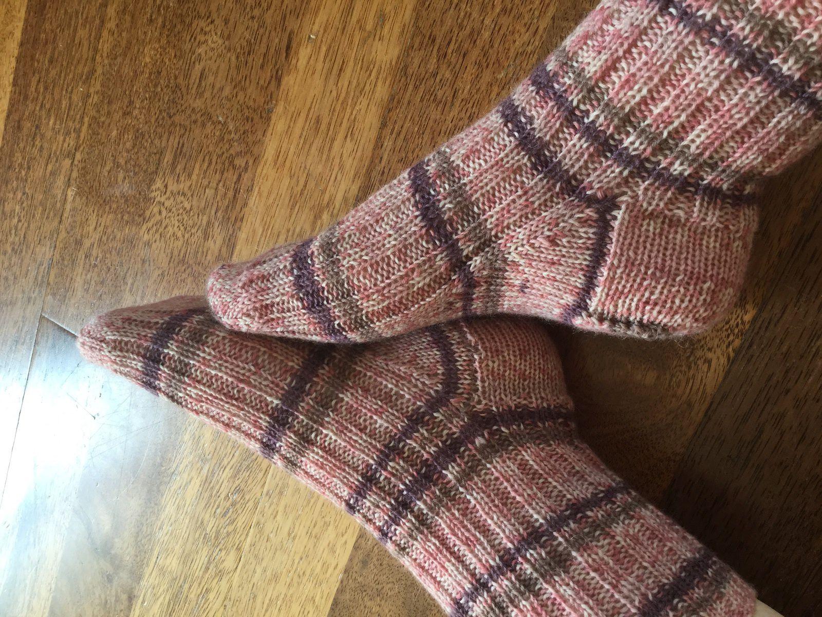 Du Phildar dans les chaussettes