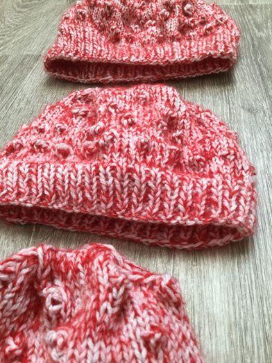 Bonnets Chouquette