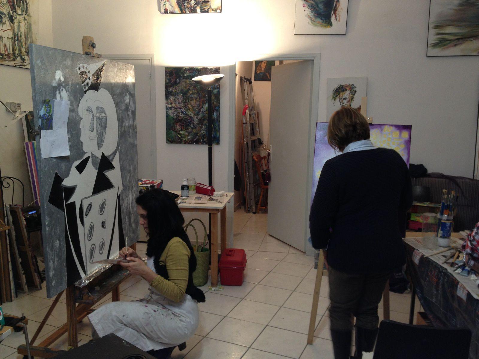 Inspiration Picasso (Sophie) ou Klimt (Valérie)