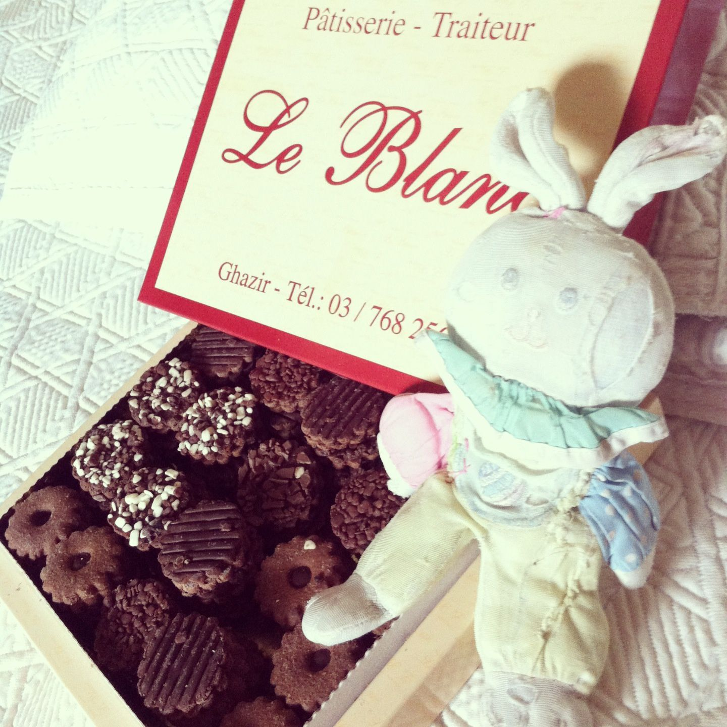 Le Blanc biscuits (made in Lebanon)