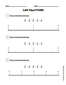 Les Fractions Cm1 Cm2 Fee Des Ecoles