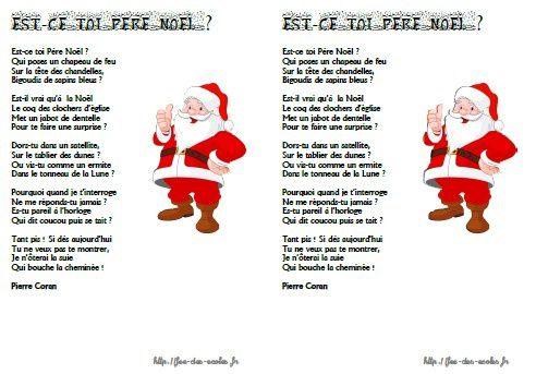Est-ce toi Père Noël - Pierre Coran GS-CP-CE1-CE2