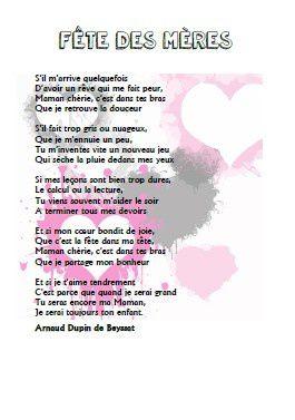 Fête des mères -  Arnaud Dupin de Beyssat - CE1-CE2-CM1-CM2