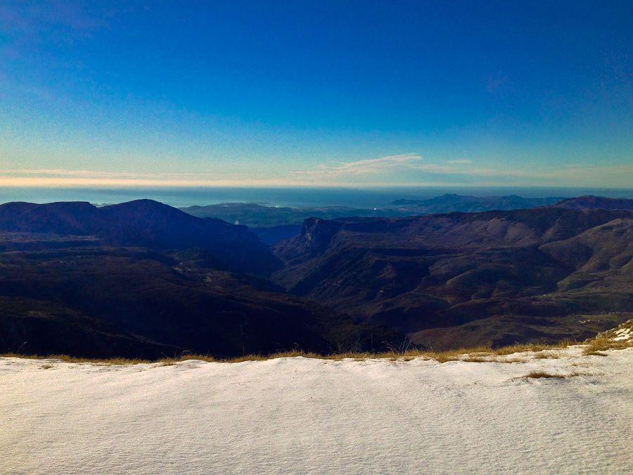 Sortie en ski de rando matutinale...