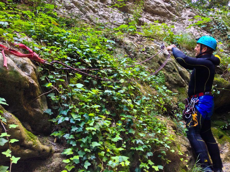 Canyoning : enchaînement Clapoure, Gros Riou jusqu'au Riou