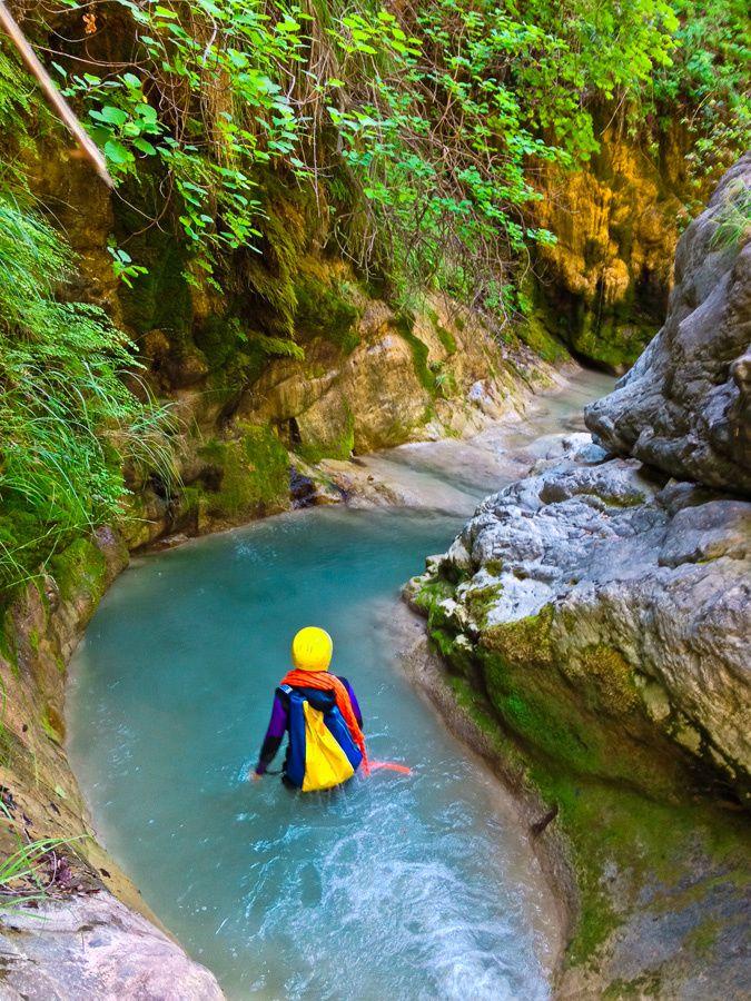 La Ciavarlina pour se rafraîchir en canyon