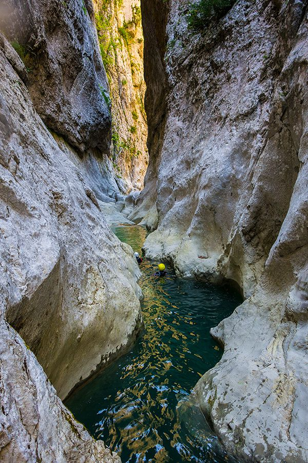 Canyon d'Aiglun pour commencer les vacances !
