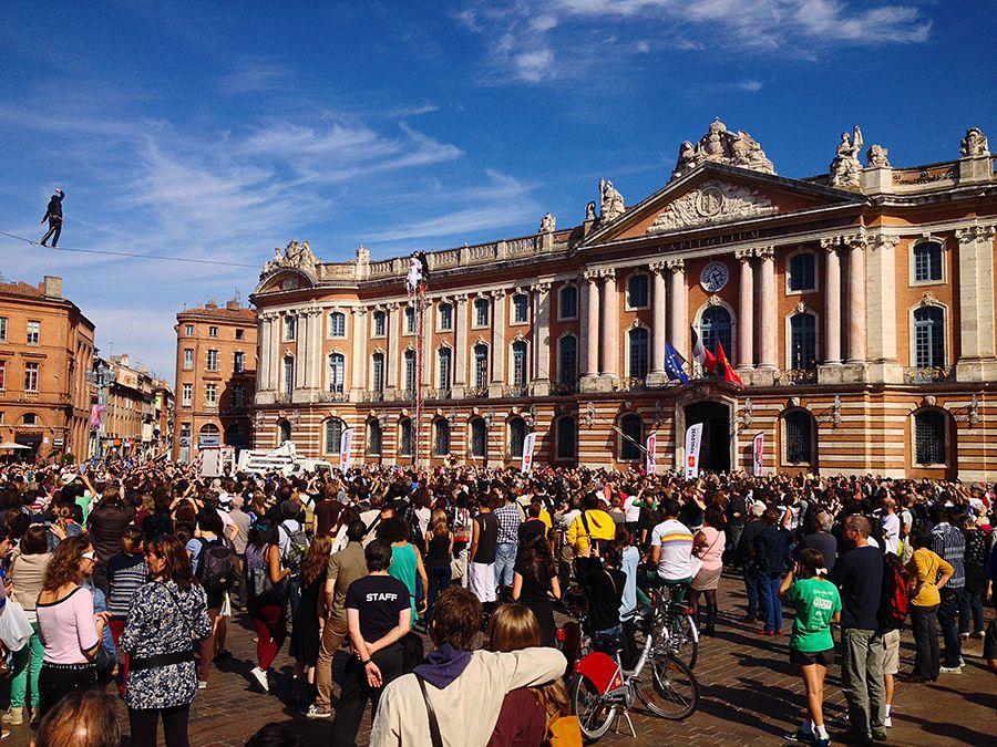 La remise de diplôme de Simon à Toulouse