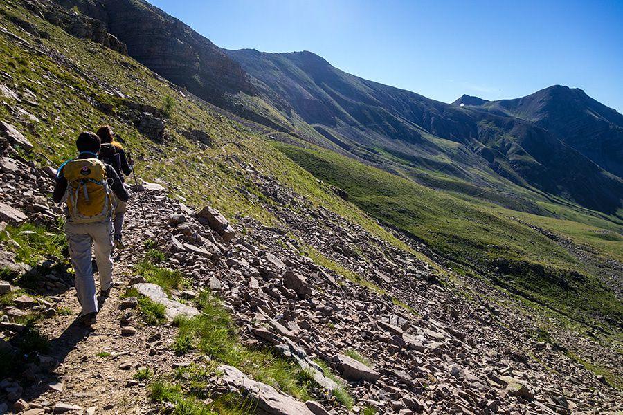 Randonnée à la cime de La Blanche (2534m) entre filles