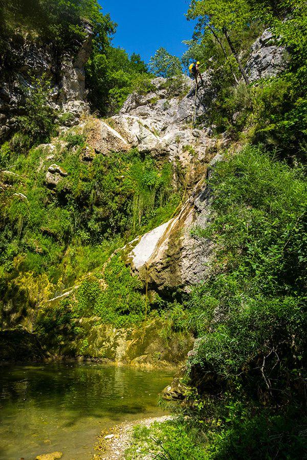 Canyon de La Cagne amont