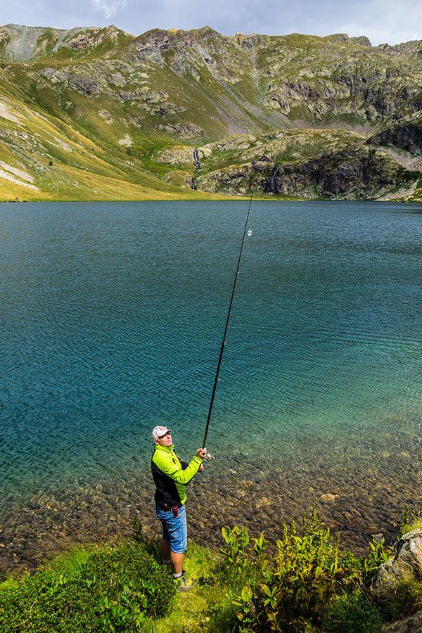 Partie de pêche aux lacs de Vens