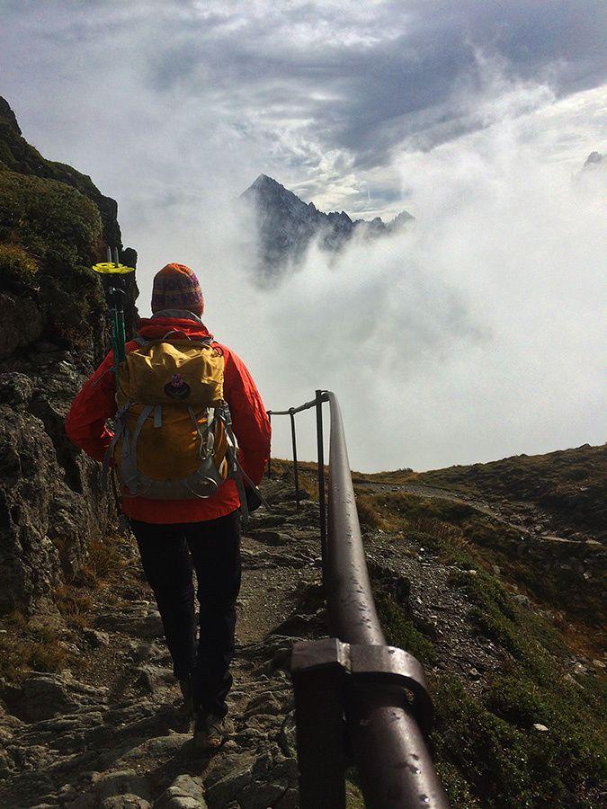 Téléphérique du Brévent (2525m) et descente à pied