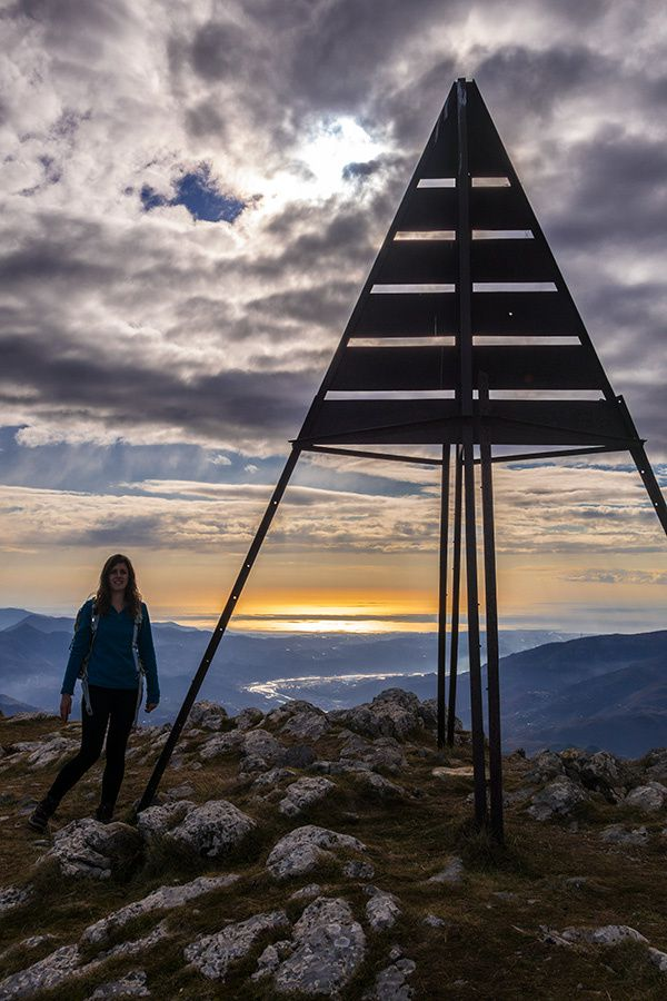 Tour du mont Vial avec Chloé