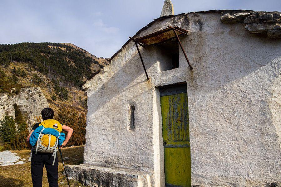 Randonnée à la chapelle Sainte-Anne à Clans