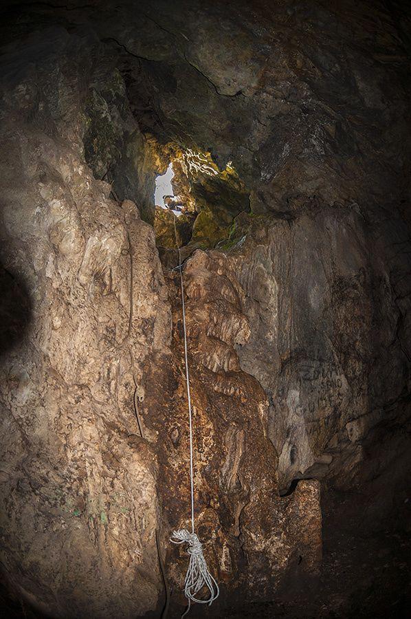 Visite de la grotte près de chez Jean et Aurélie