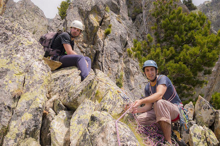 Eperon nord-ouest du triangle du Pélago pour Simon et Olivier