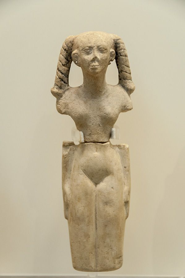 6/16 Martine en Grèce, visite le musée d'archéologie d'Athènes