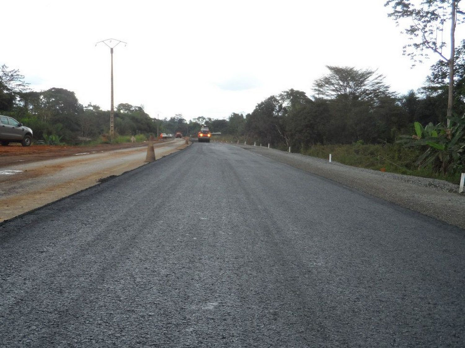 Le Gabon émergent en action : Rénovation de la Route Nationale 1 LBV-Ntoum-Kango-Bifoun